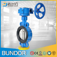 wafer 8 inch 16 inch api 6a 10k 150lb concentric gear operated butterfly valve