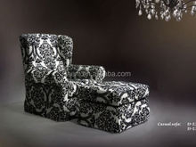 2015 Divany Furniture soft brown micro fabric sofa chair single deluxe lounge sofa chair