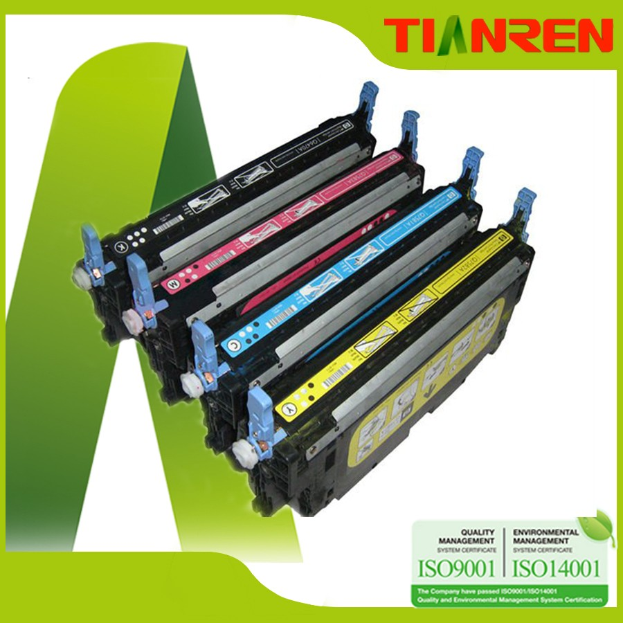 TR Toner cartridges Q6000A for HP Color LaserJet 1600 2600n 2605 2605dn 2605dtn CM1015 CM1017