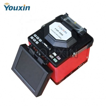 FTTH Optical fiber fusion splicer price fusion splicer