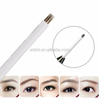 Semi Permanent Makeup Round Tattoo Needle/Eyebrow Microblading Blade