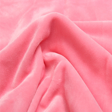 Stretch Plain Dyed Micro Spandex Super Soft Velvet fabric