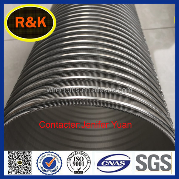 Johnson style stainless steel sieve mesh