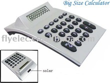 novelty solar power desktop calculator