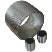 Galvanized Carbon Steel Pipe Fitting Union Nipple