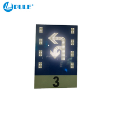 Top solar message board traffic led lights battery powered led signs