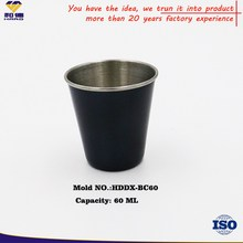 OEM 60 ML Metal Shot Glass On Promotion
