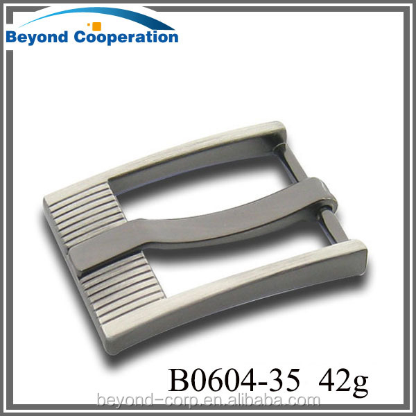 good shape crazy selling zinc alloy metal pin belt buckle