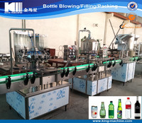 Automatic sparkling wine filling machine