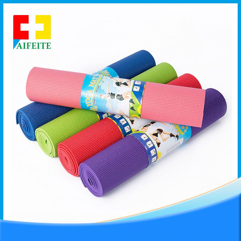 Wholesale <strong>ECO</strong> friendly anti slip thicken 15mm NBR yoga mat