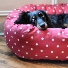 Wholesale square Dog Bed cute Color Comfort Soft Pet Bed