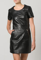 new fashion ladies leather dresses womens garment