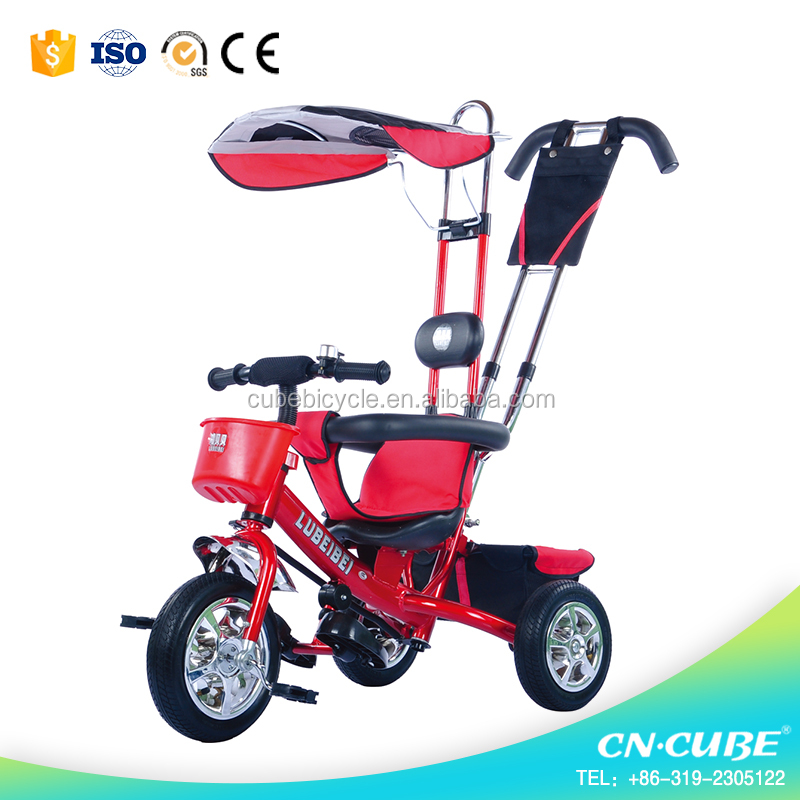 ride on kids pedal trike for sale / children reverse tricycle