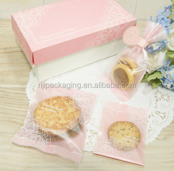 Handmade in Bakery Cookie Favor Cello Self Adhesive OPP Plastic Bag