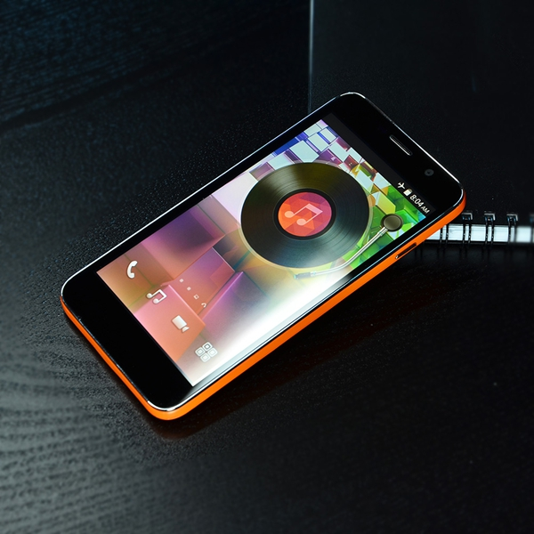 5 Inch Dual Core 512M+4G G+F Capacitive Touch Panel Smart Phone