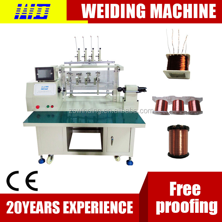 Widely used electric motor table coil winding machine WDG-04 made in china