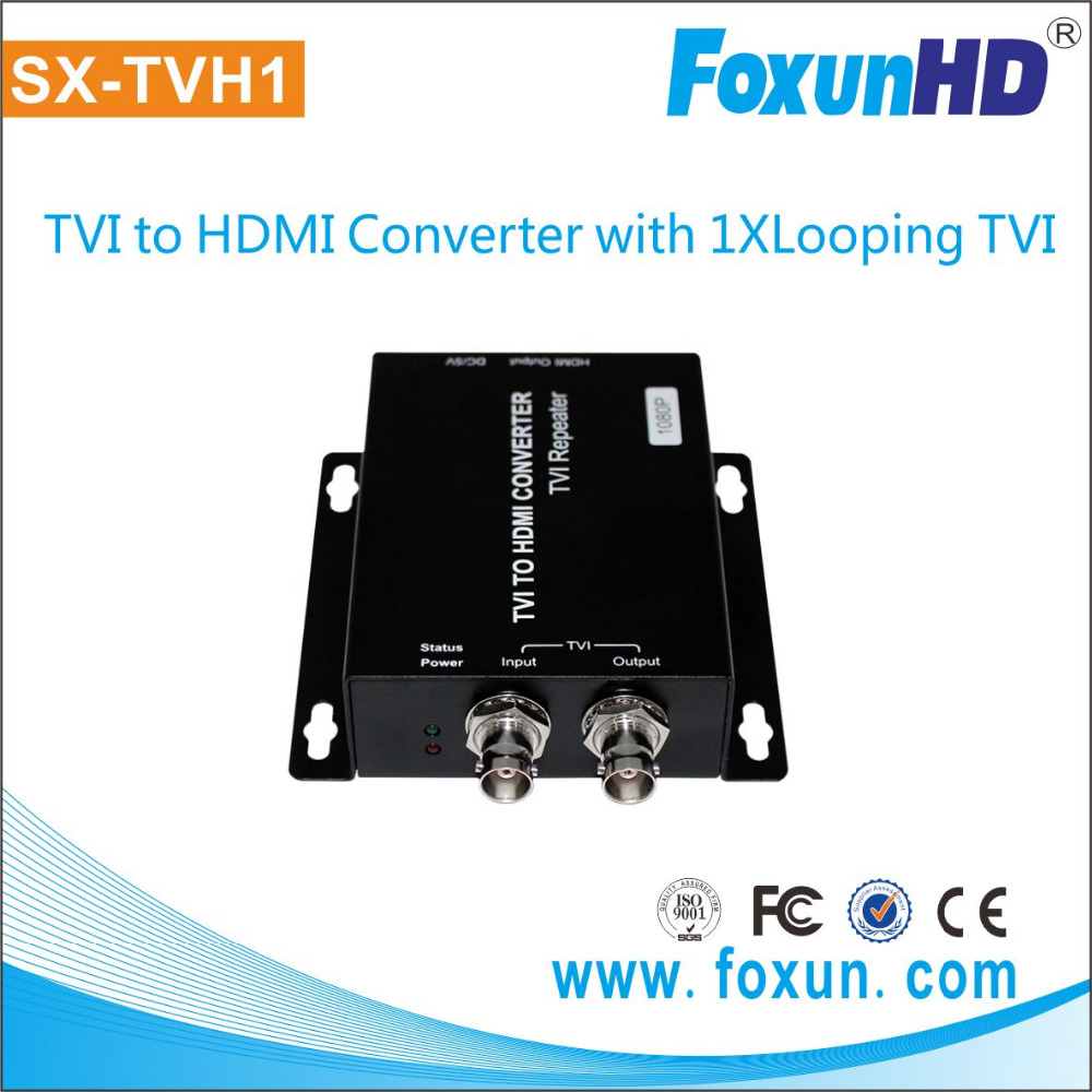 1080p with looping SX-TVH1HDMI converter Convert TVI&AHD to HDMI