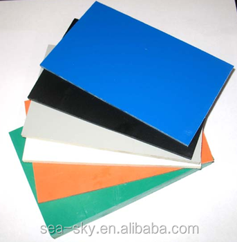 Manufacturer 4x8 pp plastic hollow sheet for advertising