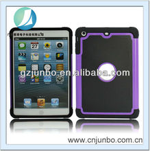 PC Silicon Combo Hybrid Case For iPad Mini
