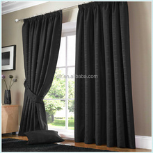 Flax Luxury fireproof Fashion Drape For Home