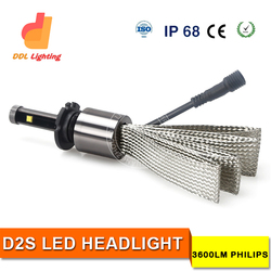 Energy saving 6500K Factory price D2S rtd led motorcycle headlight with good quality