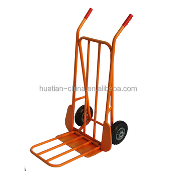Hand Trolley HT4024 china Powder coated tool cart,china manufacture multi-purpose foldable steel Hand trolley