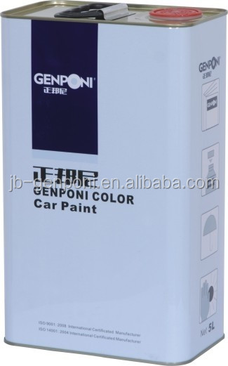 High quality 1K Basecoat Slow-dry Thinner Auto Refinish Paint GPI-263