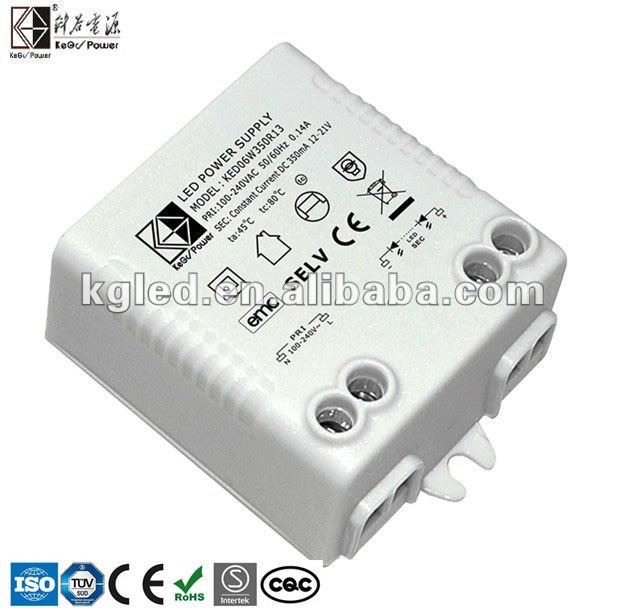 5W 24V Constant Voltage LED Driver With TUV CE