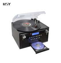 Best Quality bt SD USB Turntables Record Player CD recorder
