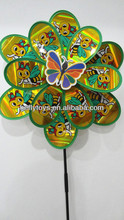 2014 hot selling plastic windmill toy