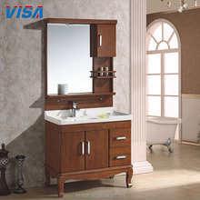 Factory supplier corner cabinet wooden base bathroom vanity