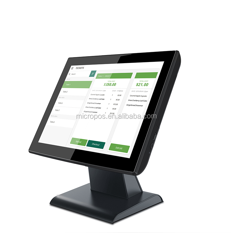high quality touch pos terminal/epos/pos system