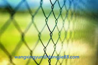 creditworthy Easy installation chain link fence panels/ stainless steel chain link fence from China