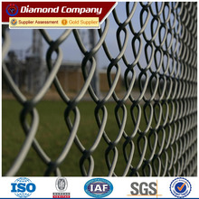 9 gauge 6ft galvanized wire mesh Rhombus Wire Mesh roll chain link fence