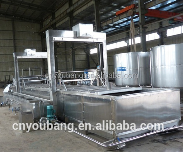 Automatic tunnel pasteurization machine for canned / package food