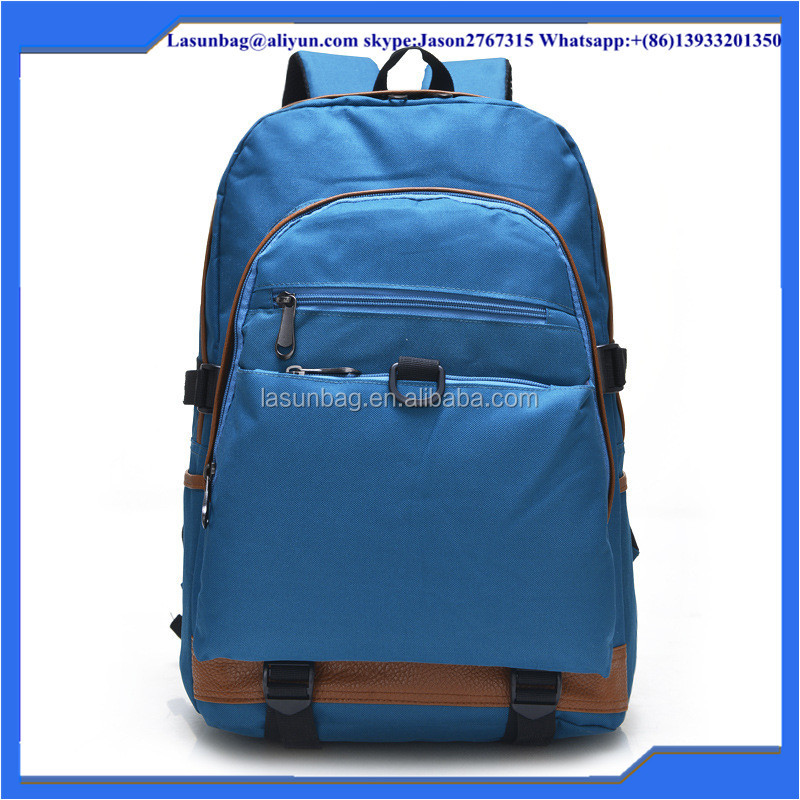 2015 New Design Strong Nylon Waterproof Male School Backpack Boys Traveling Backpack