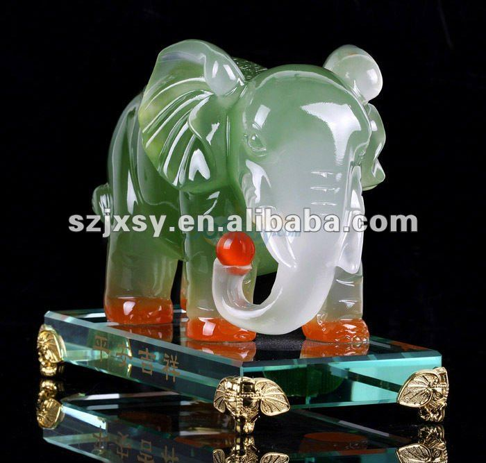 The popular swarovki crystal gift elephant statues