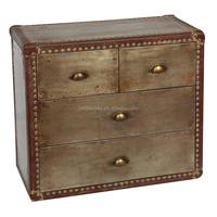 Winsome Galvanized Chest Of Drawers Art Deco Furniture