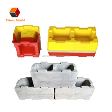 Made in China Concrete Hollow Blocks Wall interlocking plastic molds