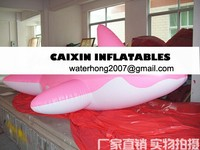 inflatable helium flying whale animal for advertising selling