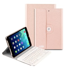 2017 PU leather for ipad mini keyboard case manufacturer