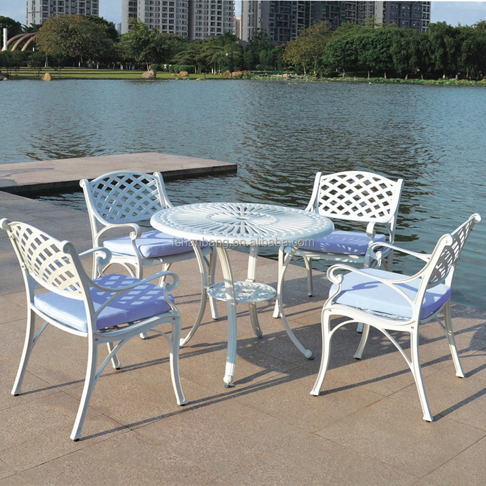 Garden Furniture All Weather hotsale all weather rust free cast aluminium garden furniture