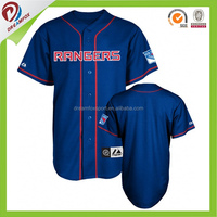 fashion custom Sublimation cheap slim fit baseball jersey wholesale