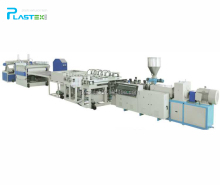 Tongling Plastex Production line for PVC skinning foamed board Extrusion Line