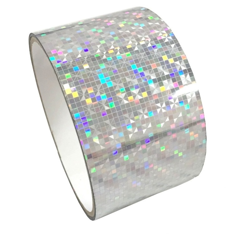 Holographic Diamond Self Adhesive Tape Prism Paper Films