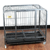 stainless steel pet cage/ comfortable stainless steel pet cage, wire dog cage/ manufacture stainless steel pet cage for sale