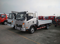 Sinotruk CDW 3 ton trucks Small Cargo vehicle with lowest price