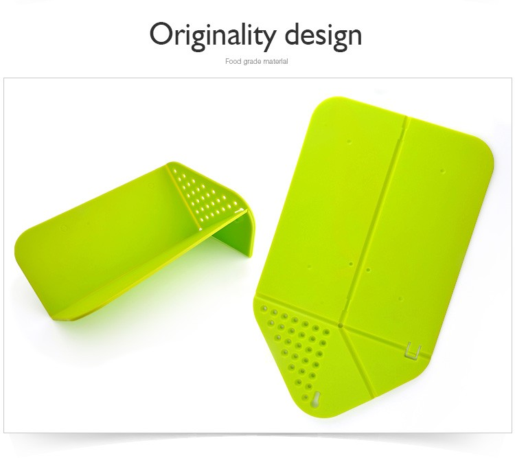 Hot selling multifunctional plastic chopping board cutting board