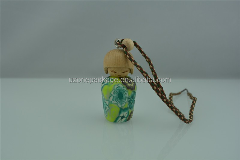 2014 hot gift items brand hanging car perfume bottle