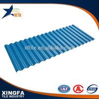 Steel plant roof tile edging
